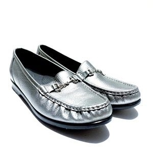 SAS Shoes - SAS Comfort Loafer Moc Toe Shoes with Horsebit